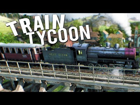 BUILDING THE BIGGEST TRAIN TYCOON TRANSPORT COMPANY! - Mashinky Early Access Gameplay