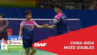 G1 | XD | WANG/HUANG (CHN) vs CHOPRA/SIKKI (IND) | BWF 2019