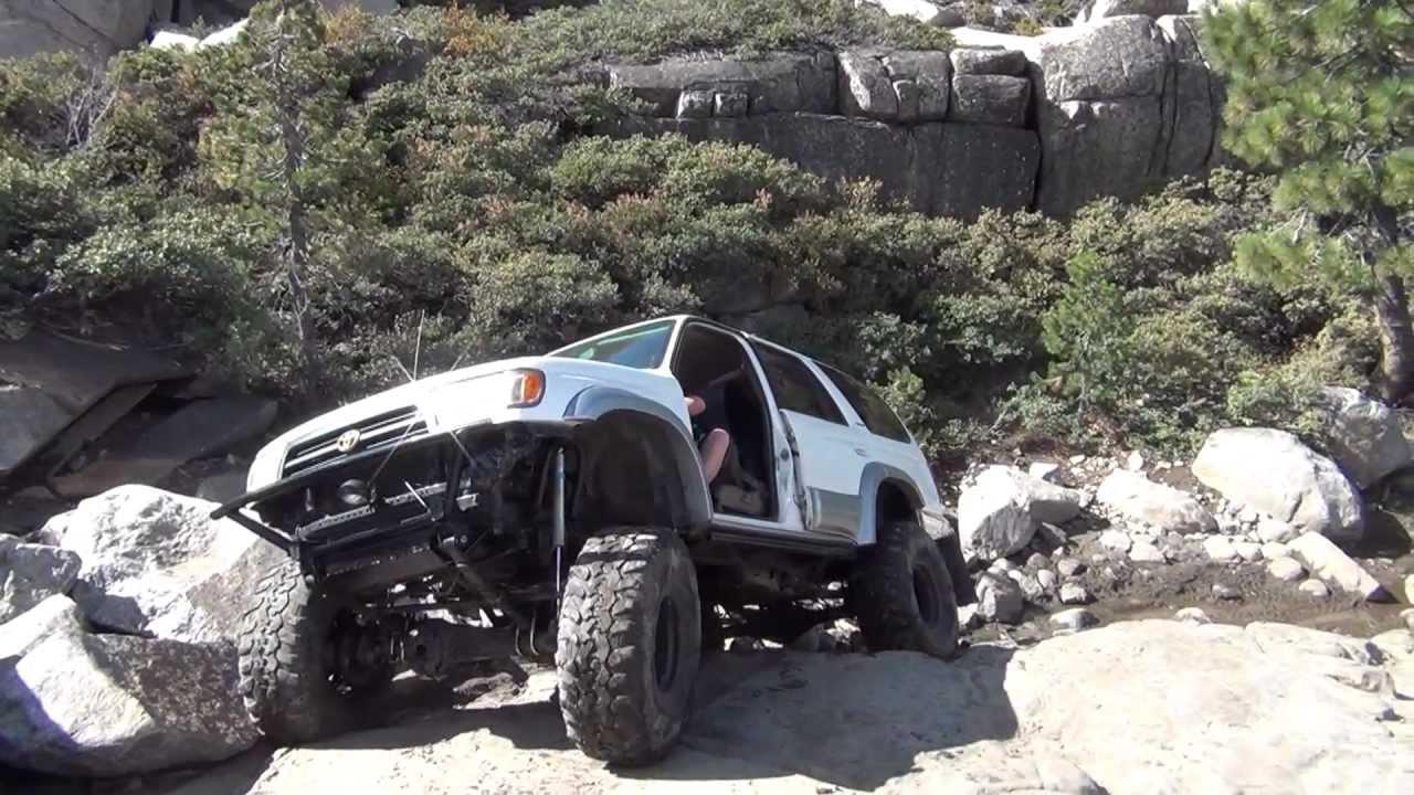 Toyota 4runner Rock Crawler On The Rubicon Trail Youtube