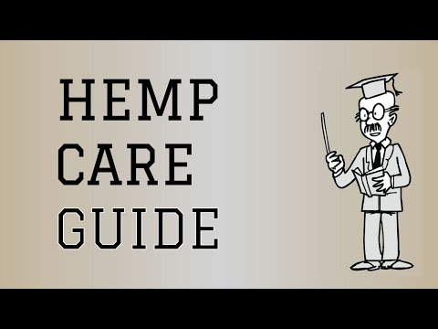 Fabric Care Guide : Hemp | How to care for Hemp