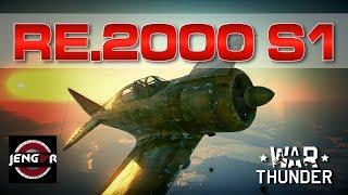 War Thunder Realistic: Re.2000 serie 1 [Reggiane Bellissima!]