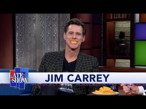 Jim Carrey's Paintings Reflect the Reality Of American Politics. And Mangoes. Lots Of Mangoes.