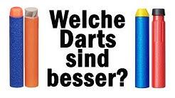 Nerf Darts vs. BuzzBee Darts   Magicbiber [deutsch]