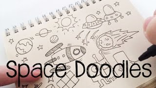 Space doodles | Doodle for Kids | Doodle with Me