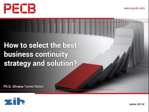 How to Select the Best Business Continuity Strategy and Solution?