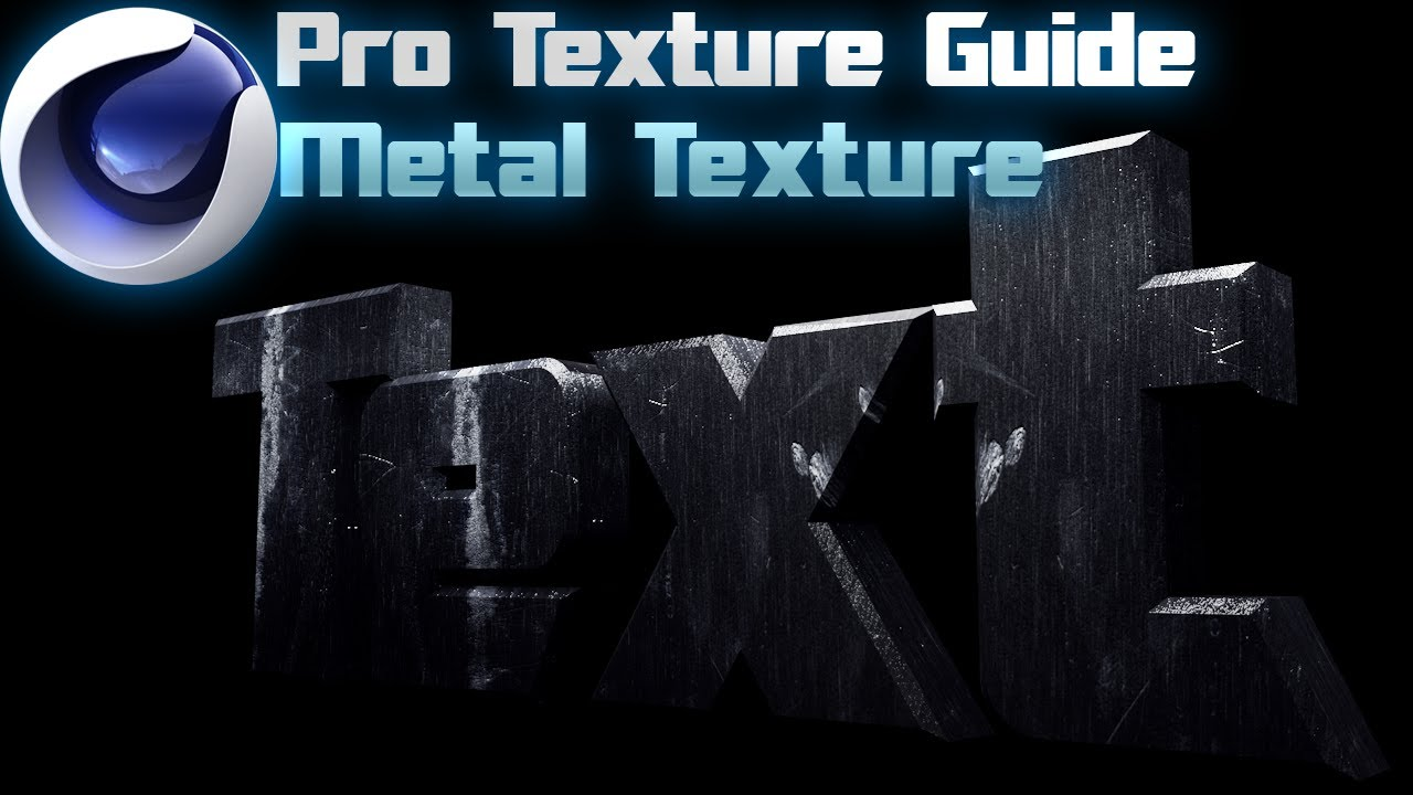 Scratched Metal Texture - CINEMA 4D Pro Texture Guide(Part 1) - YouTube