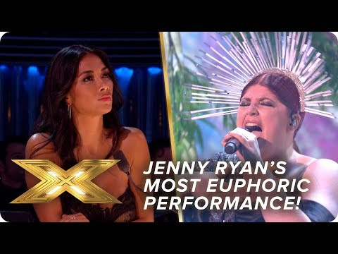 Jenny Ryan's most EUPHORIC performance to date! | Live Show 4 | X Factor: Celebrity