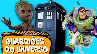 10 MAIORES GUARDIÕES DO UNIVERSO! 🔫 👮🏽