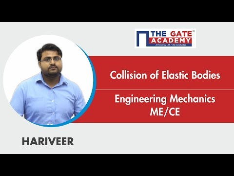 Collision of Elastic Bodies | Engineering Mechanics | Dynamics of Rigid Bodies | ME | CE