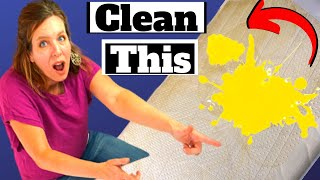 How to Clean a Mattress - Smell, Mystery Stains, Grease and Urine Gone!!