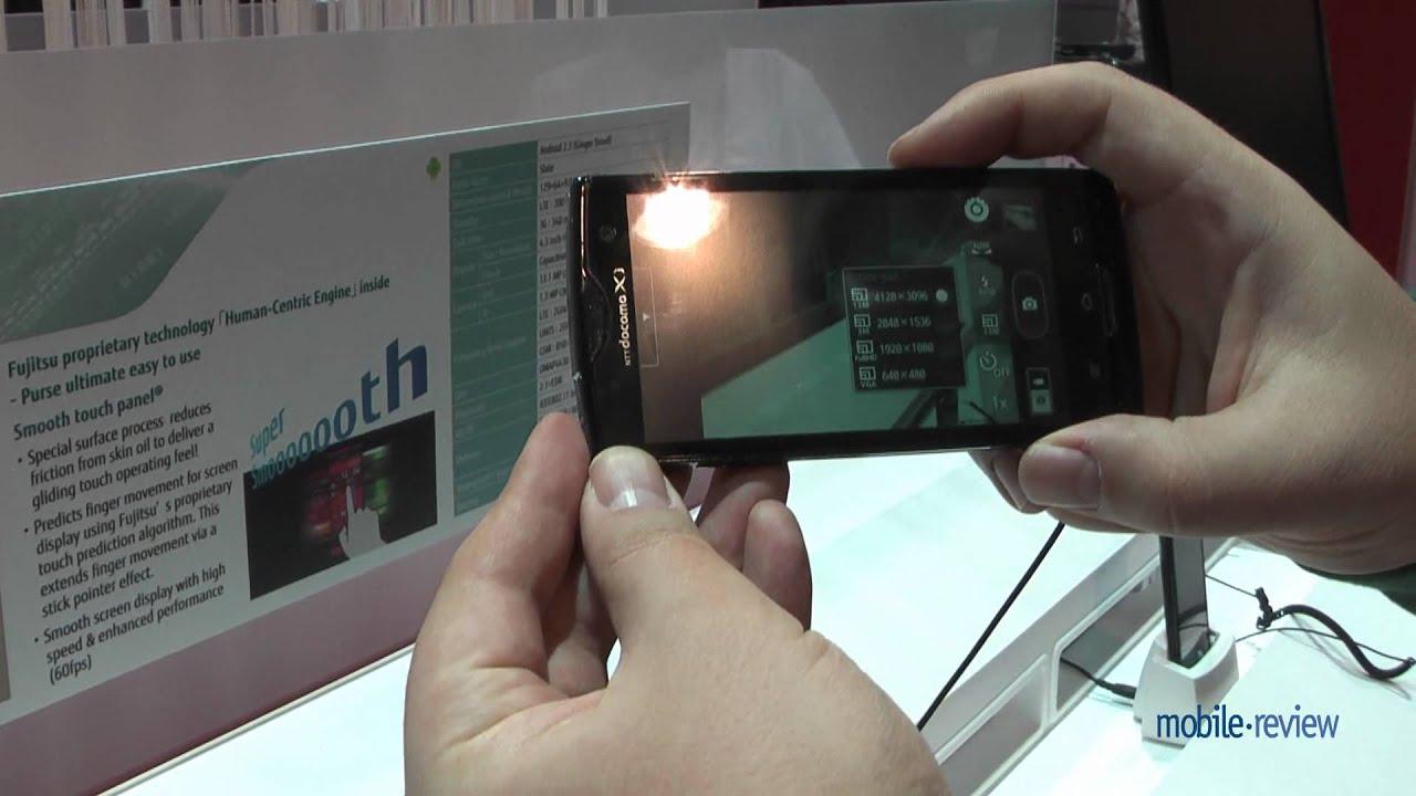 Fujitsu Arrows X Lte F05 D Demo Youtube Nx F 05f 4g Original