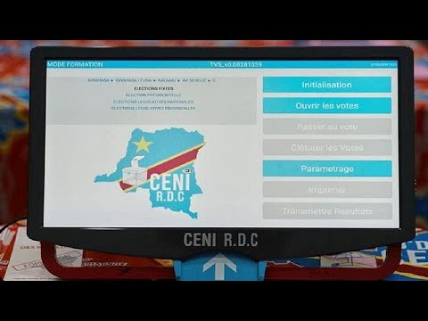 DRC electoral body says voting machines for Dec. polls are r