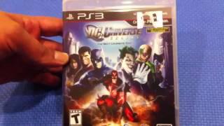 PS3 - DC Universe Online Unboxing !!!