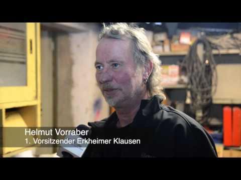 Dämonenjagd in Erkheim - Klausen bereiten sich vor