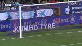 Levante - Barcelona Highlights HD 21.09.2014