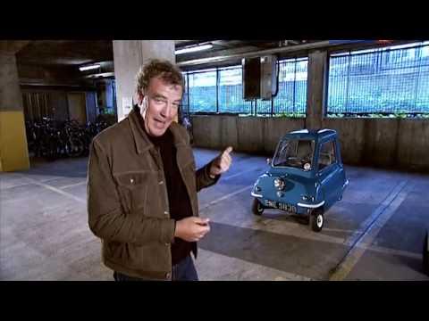 2 метровый Кларксон в игрушечной машине