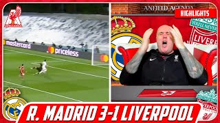 LIVERPOOL FAN REACTS TO REAL MADRID 3-1 LIVERPOOL HIGHLIGHTS