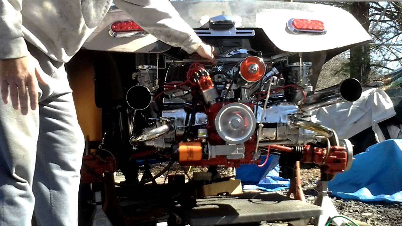 Vw Dune Buggy >> 1641cc VW Dual EMPI 40S Start Up Dune Buggy - YouTube