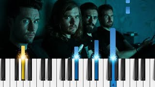 Bastille World Gone Mad EASY Piano Tutorial from Bright