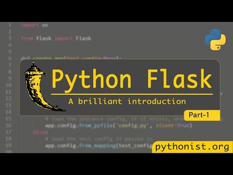 A Brilliant Introduction To Flask