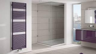 Towel Warmer in the modern bathroom → stylish interior detail ➤ Bathroom ideas & Bathroom decor