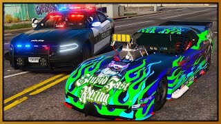 GTA 5 Roleplay - 3000BHP MONSTER DRAG TROLLING COPS | RedlineRP