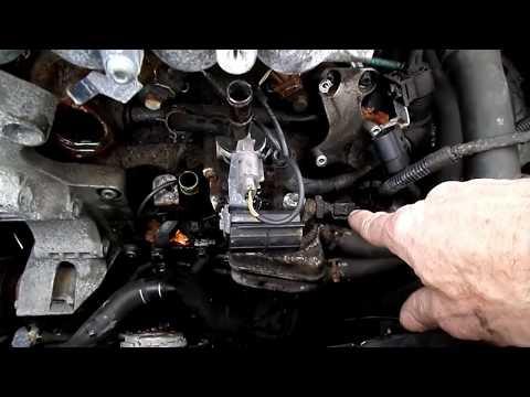 Vw 2 0L Crankshaft Sensor Removal
