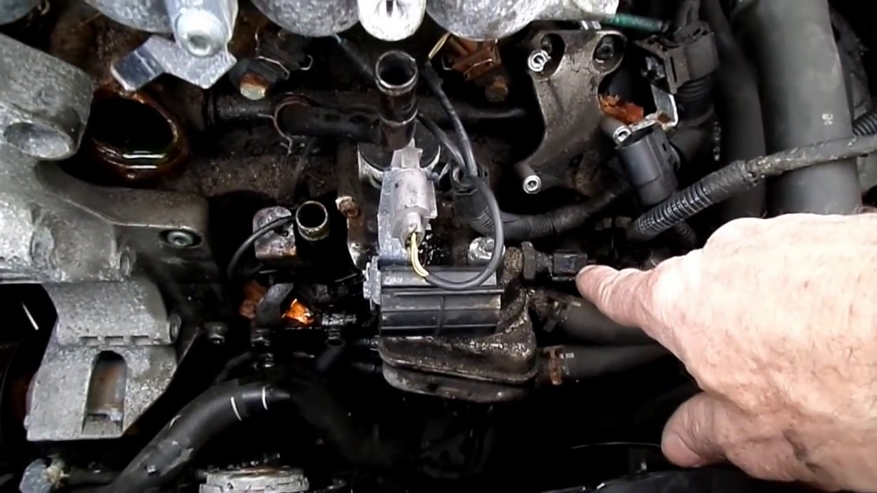 Vw 2 0l Crankshaft Sensor Removal Youtube