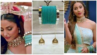 Hina Khan/Komolika Bangle making at home|Mirror Gotta Bangles|Silk thread bangles|