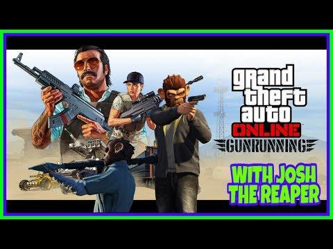 GTA 5 GUNRUNNING DLC HYPE   NEW FLYING BIKE & MOBILE HQ   WITH FRIENDS