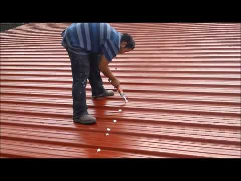 Amazing Rusted Roof Coating Video