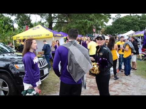 ECU vs.  VT Tailgate September 26, 2015.