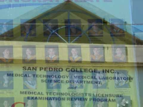 A vid for my bro! @ San Pedro College Medical Technology 2008