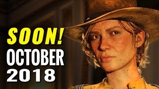 25 Most Anticipated Games of October 2018 | PC, Switch, PS4, Xbox One, 3DS, Wii U