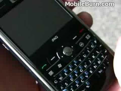 HP iPAQ 910 smartphone demo