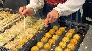 japanese street food - TAKOYAKI