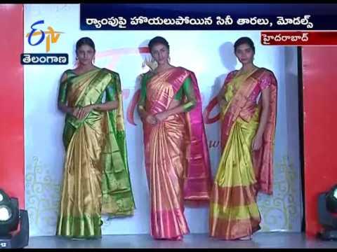 Watch Video| Trisha Love for Handloom Fashion Show | Hyderabad