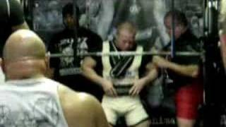 Powerlifting 540lb Squat