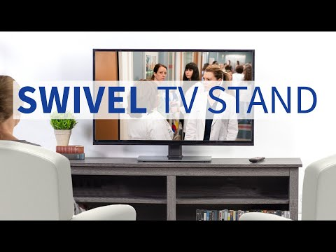 STAND TV55S Freestanding Swivel Tabletop TV Stand By VIVO