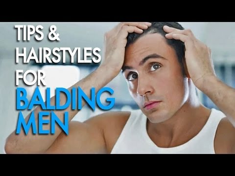 How To Choose A Good Hairstyle For Guys : Hairstyles for balding men youtube