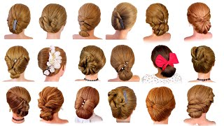 20 Легких причесок на каждый день 20 different and easy hairstyles