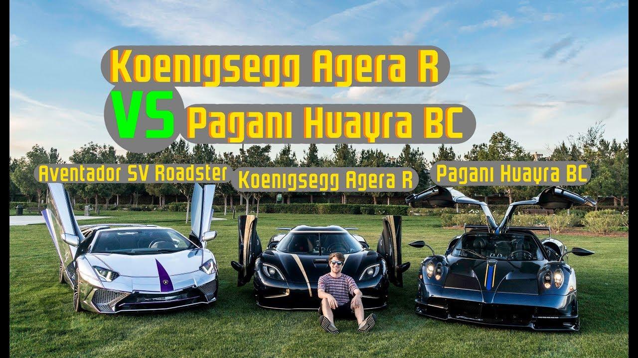Koenigsegg Agera R VS Pagani Huayra BC!! Hypercars Hit Warp Speed