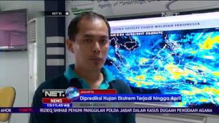 BMKG Prediksi Hujan Ekstrem Akan Terjadi Hingga April Nanti - NET10