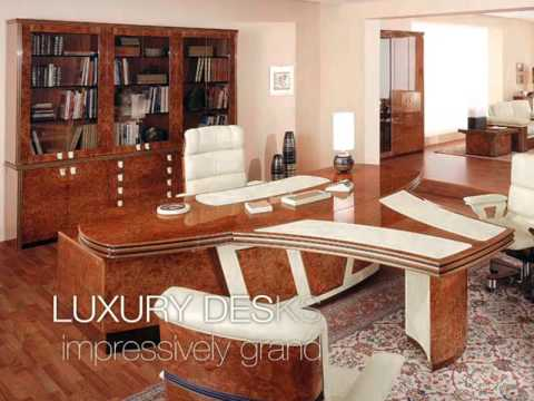 Luxury Office: Wich Furniture Provide For A Perfect Office   YouTube