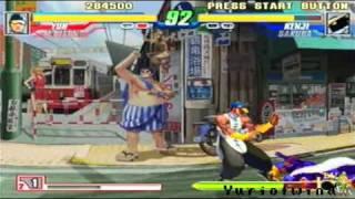 Capcom Fighting Evolution Gameplay (PS2 / Xbox)