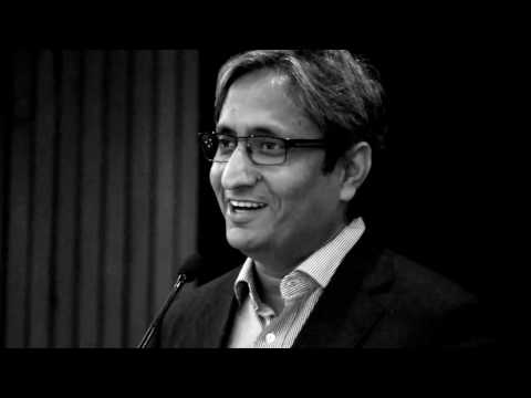 Ravish Kumar's Speech on winning the inaugural Kuldip Nayar Journalism Award