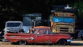 Exploring OLD Abandoned Classic Cars, Trucks, Wreckers
