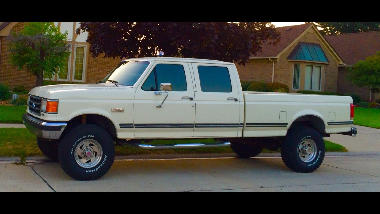 1989 ford 3/4 ton truck