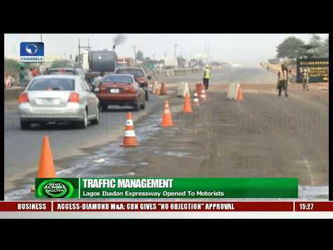 Traffic Management: Lagos-Ibadan Expressway Opened To Motorists