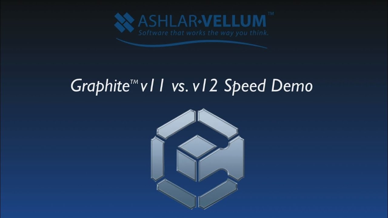 Graphite v12 vs v11 Speed Demo High - YouTube